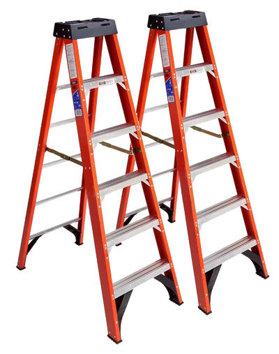 Superior Huntingdon Composite's reinforcements used to make ladders